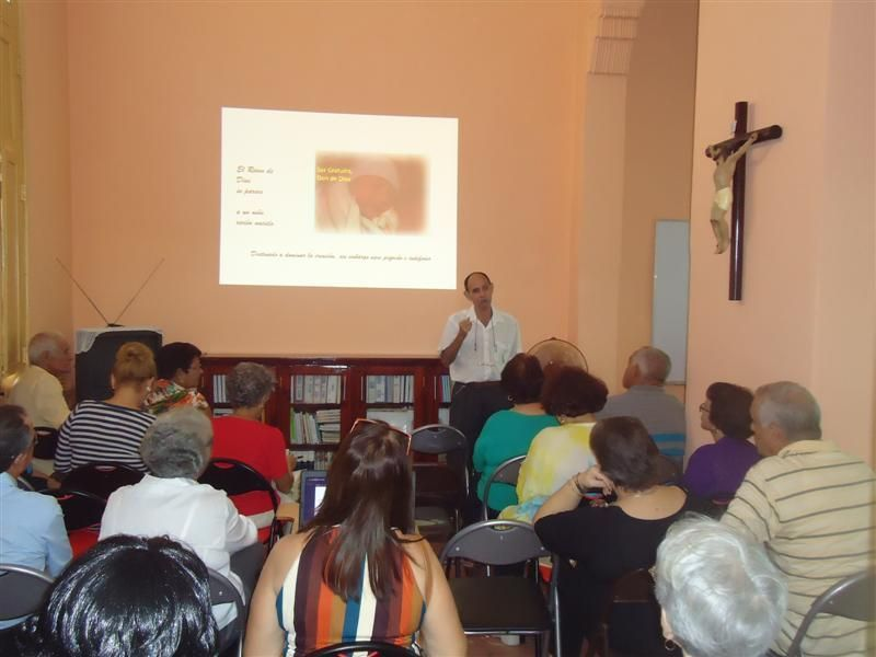 El director de la Cáritas en Santa Clara (Cuba), diácono  José Ignacio García, preside la Asamblea anual de la Cáritas de la diócesis
