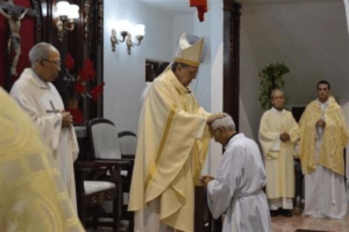Ordenación diaconal y deseos de paz al iniciar el 2018 en Santa Clara