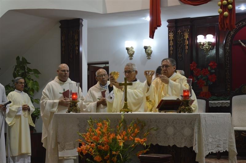 Diócesis de Santa Clara, Cuba: Ordenación diaconal y deseos de paz al iniciar el 2018