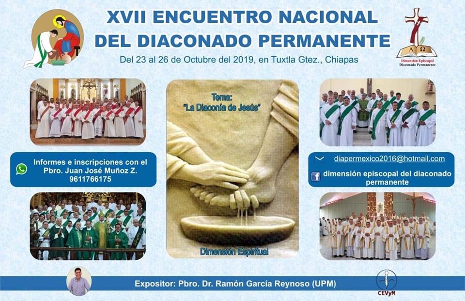 XVII Encuentro Nacional del Diaconado Permanente en México