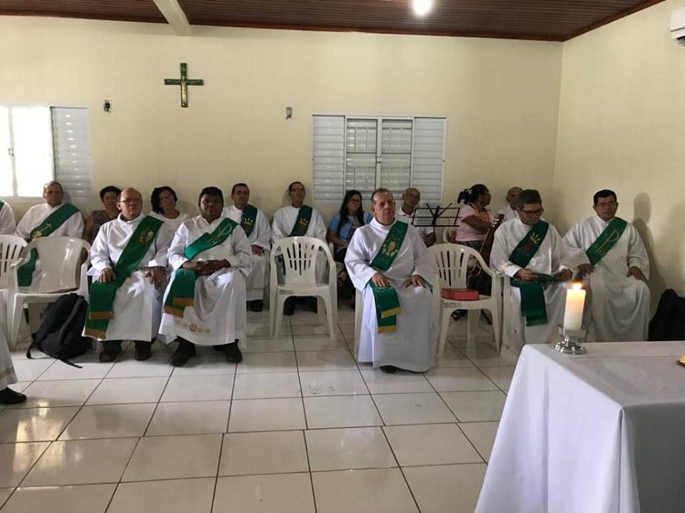 Formação Permanente de Diáconos e Esposas da Diocese de Rio Branco. AC, Brasil