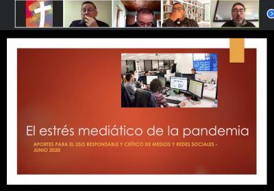 El diácono Jaime Coiro, Secretario General Adjunto de la Conferencia Episcopal de Chile, reflexionó sobre El estrés mediático de la Pandemia