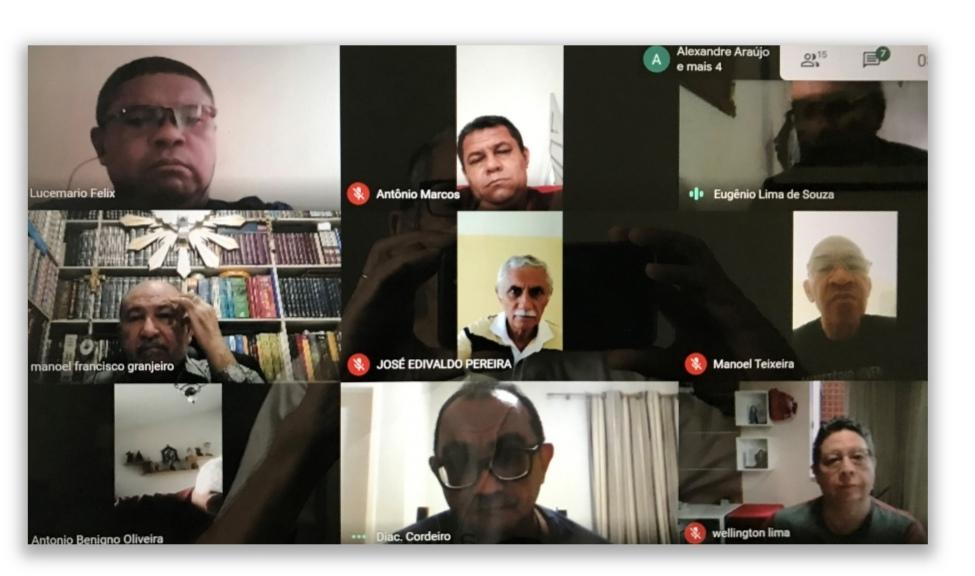 Diáconos de Natal-RN -Brasil-  realizam nova reunião virtual