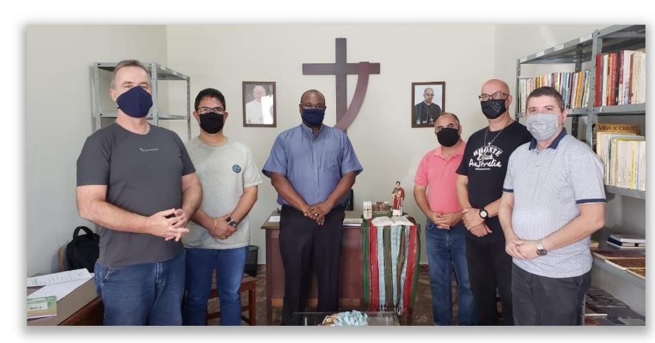 Diáconos da Arquidiocese de Ribeirão Preto -Brasil- inauguram sala para sede