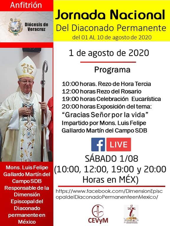 Iglesia de México. Jornada de Oración del Diaconado Permanente, día 1