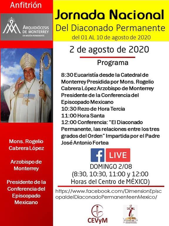 Iglesia de México. Jornada de Oración del Diaconado Permanente, día 2