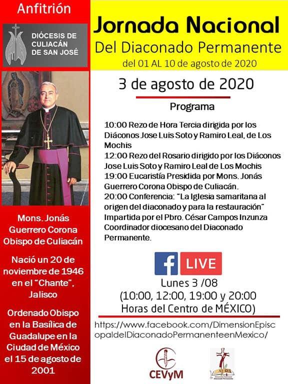 Iglesia de México. Jornada de Oración del Diaconado Permanente, día 3
