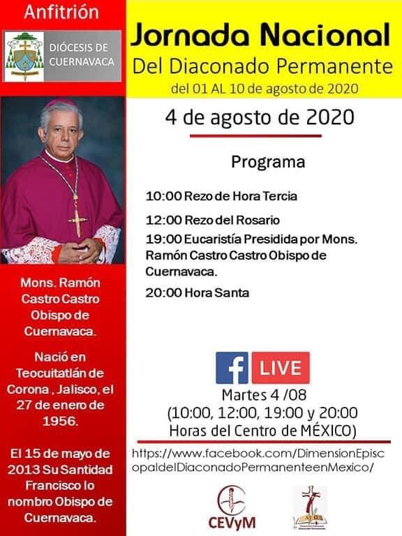 Iglesia de México. Jornada de Oración del Diaconado Permanente, día 4