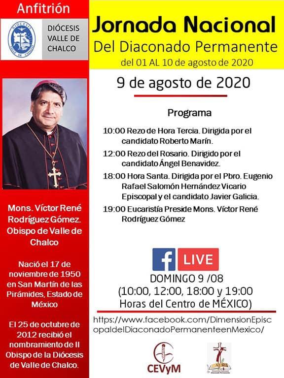 Iglesia de México. Jornada de Oración del Diaconado Permanente, día 9