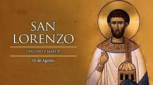 San Lorenzo, ruega por nosotros