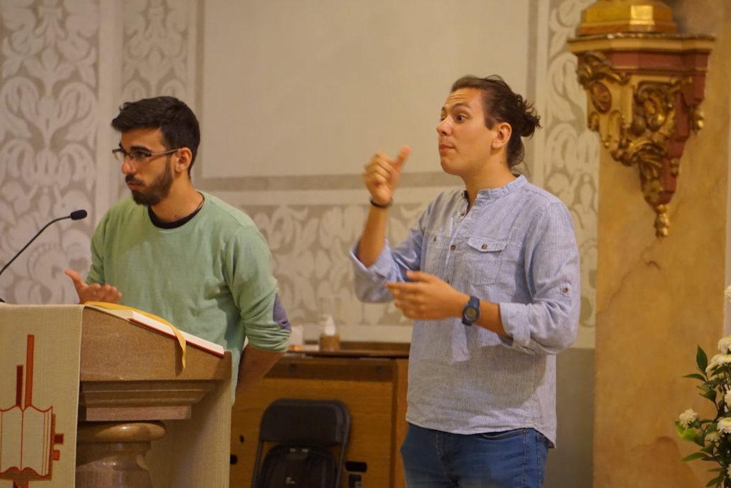 Diácono Luis Gonzalo: «La pastoral del sordo continúa viva y muy cerca de la personas»