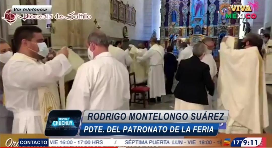Tiene la Feria de Saltillo -México- un presidente diácono
