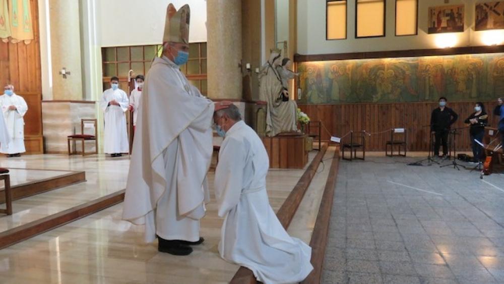 Iglesia diocesana de Santa María de Los Ángeles -Chile- tiene un nuevo Diácono Permanente