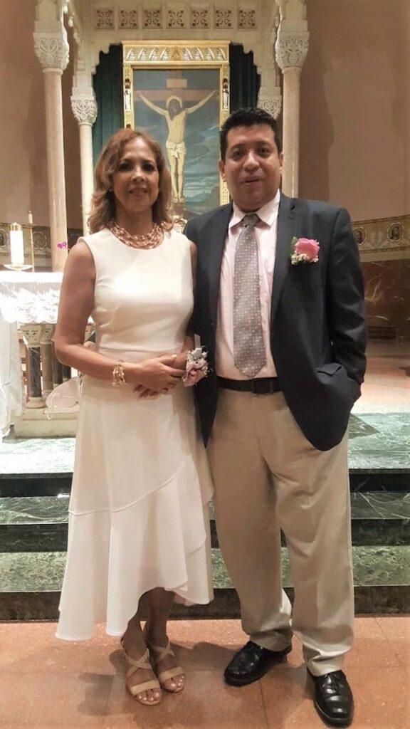 El diácono Paulo Salazar y su esposa conocieron cómo se manifiesta el Señor aún en medio del dolor
