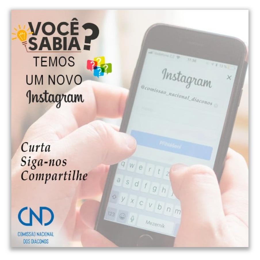 Conheça o novo Instagram da CND