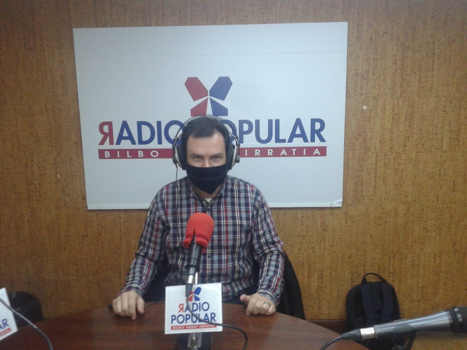 Testimonio en la radio Popular del neo diácono de Bilbao, España, Roberto Vidal