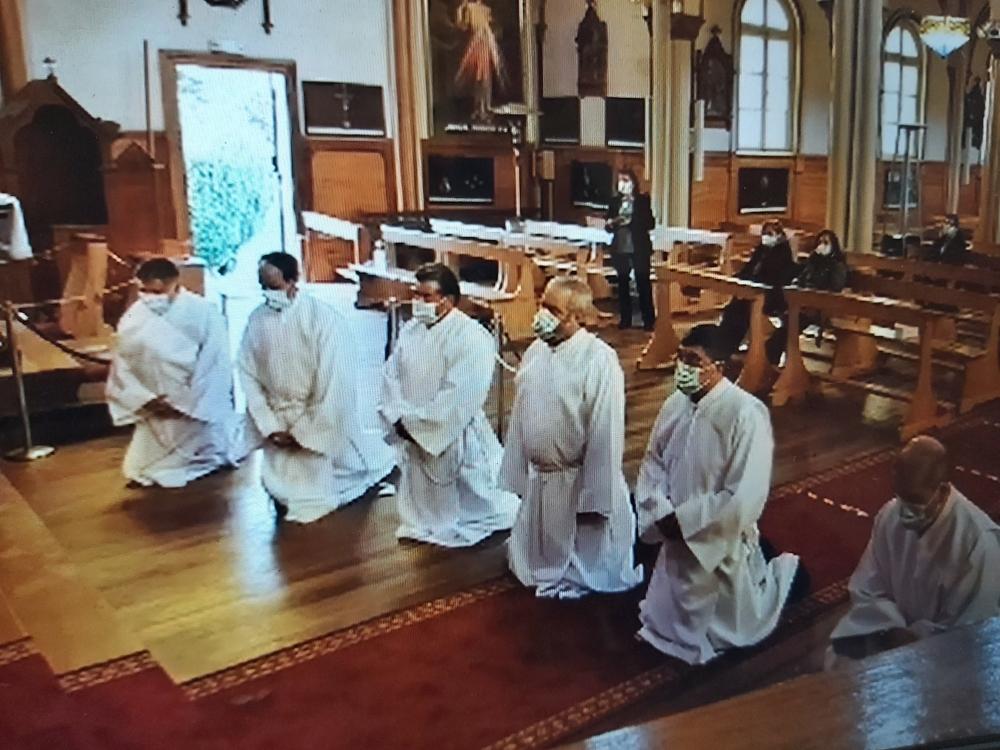 Arzobispo de Puerto Montt -Chile- instituye acólitos en preparación al Diaconado Permanente