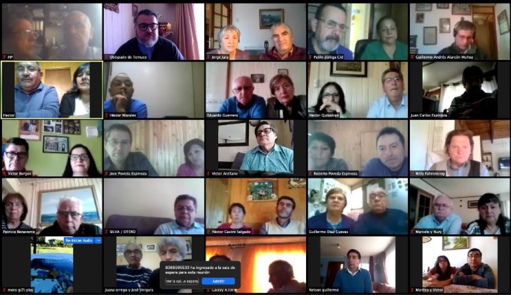 Reunión mensual de Diáconos Diócesis de Temuco, Chile