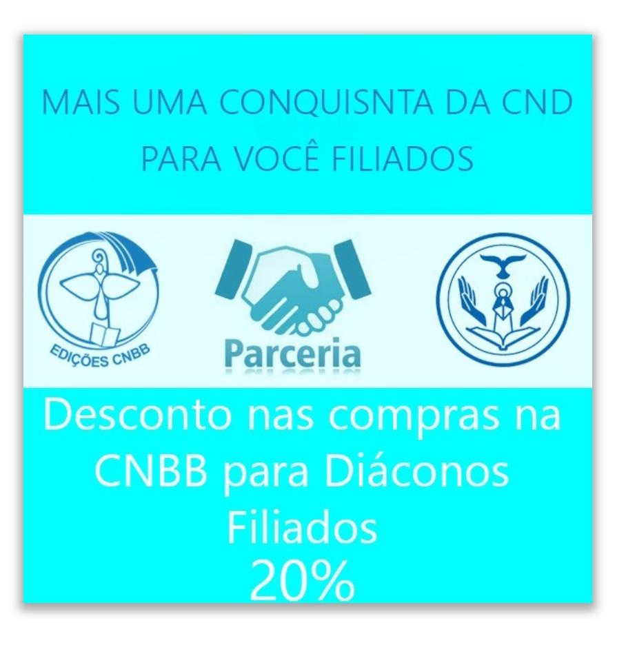 Instruções Parceria CND e CNBB Parceria CND e Edições CNBB