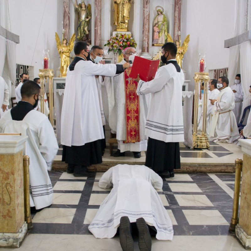 Nuevo diácono para la diócesis de Machiques, Venezuela