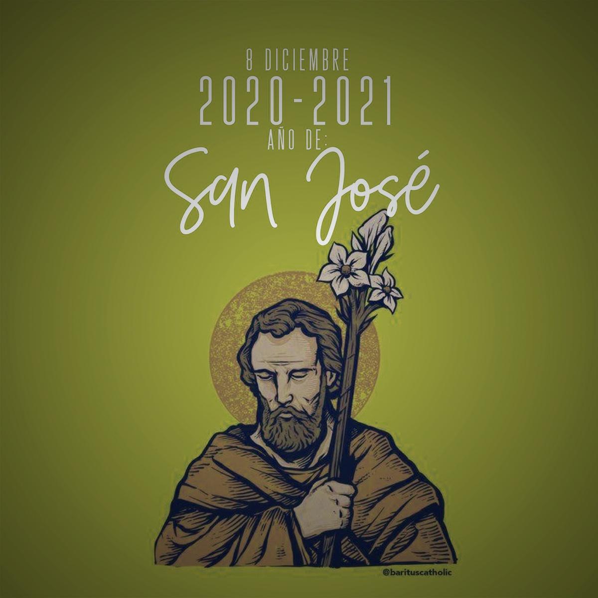 Por meio de São José, pedimos ao Senhor um ano de 2021 de dedicação e serviço