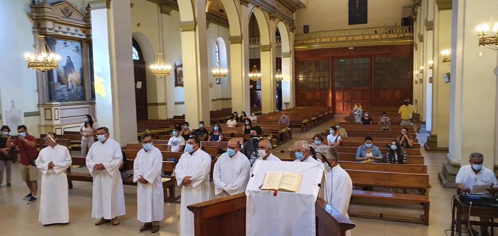 Rancagua, Chile: Candidatos al diaconado recibieron ministerio de acólitos