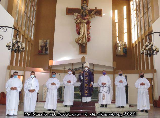 Diócesis de San Isidro, Costa Rica: candidatos al Diaconado Permanente son ya Ministros Acólitos