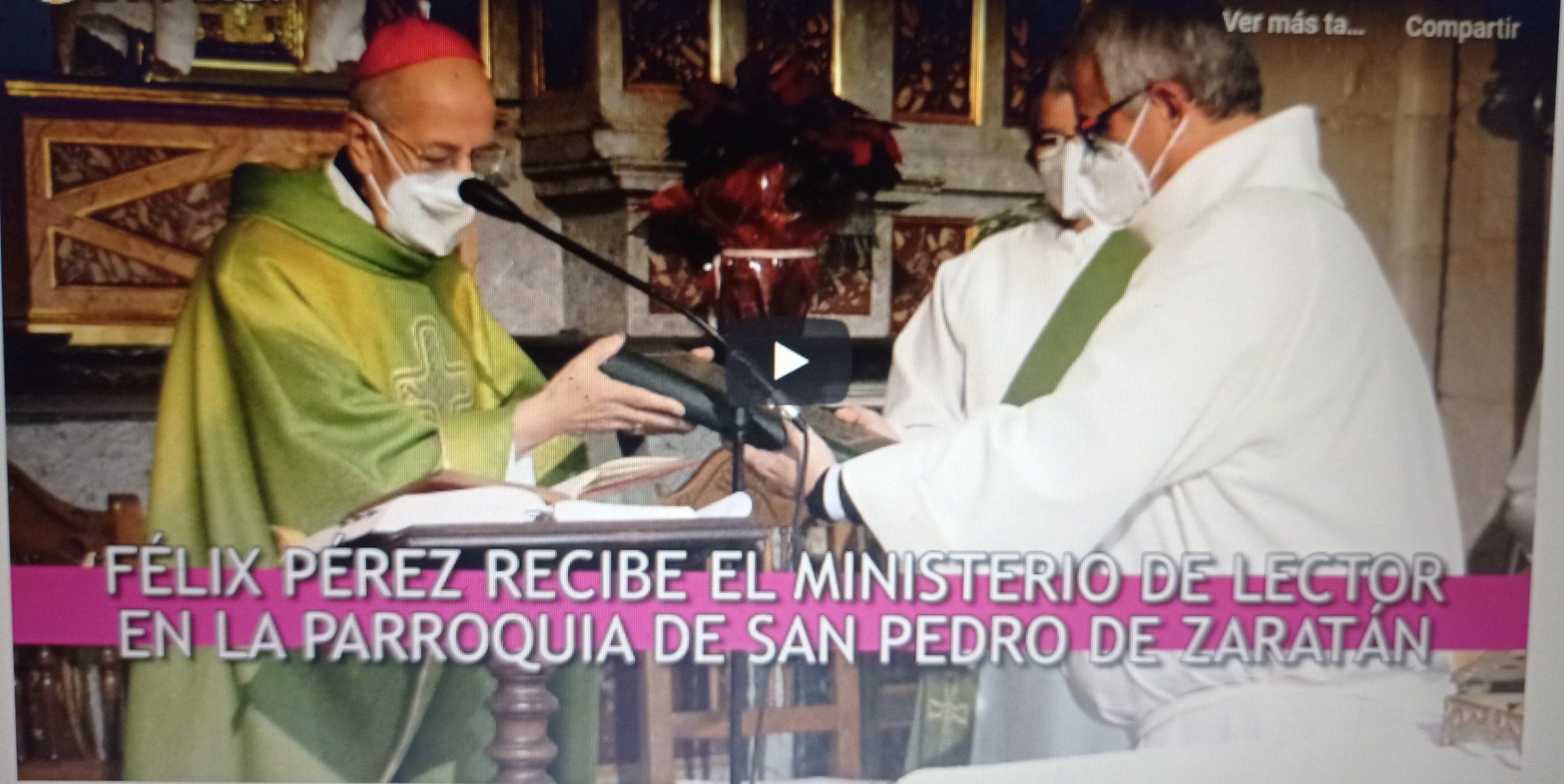 Institución en el ministerio del lectorado en la archidiócesis de Valladolid, España