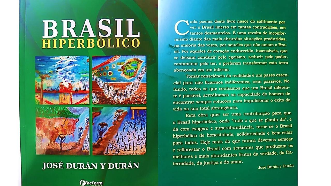 «Brasil Hiperbólico» é o novo livro de poemas do diácono José Durán Durán