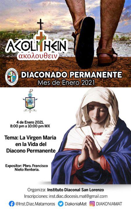 «La Virgen María en la Vida del diácono permanente»