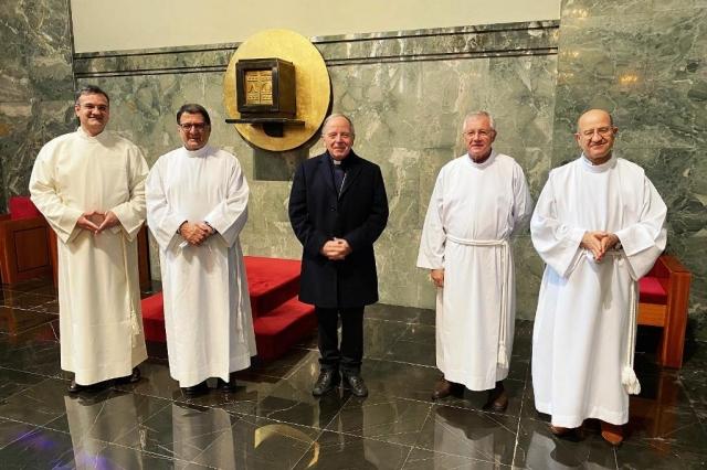 Lisboa, Portugal: Diaconado permanente: Quatro candidatos instituídos acólitos