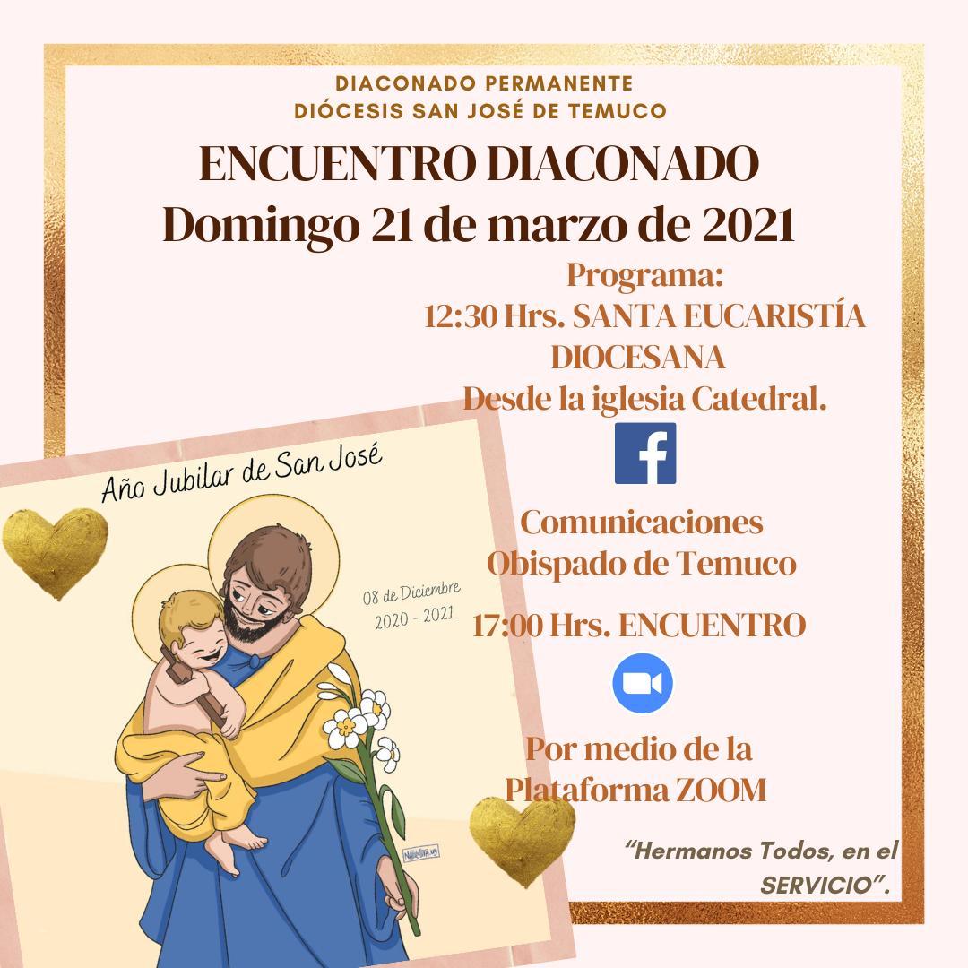 Diocesis de San José de Temuco, Chile: Encuentro Diaconado Permanente