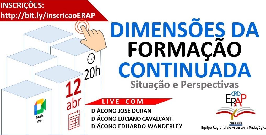ERAP/CRD NE2, Brasil,  realiza primeira formação dia 12