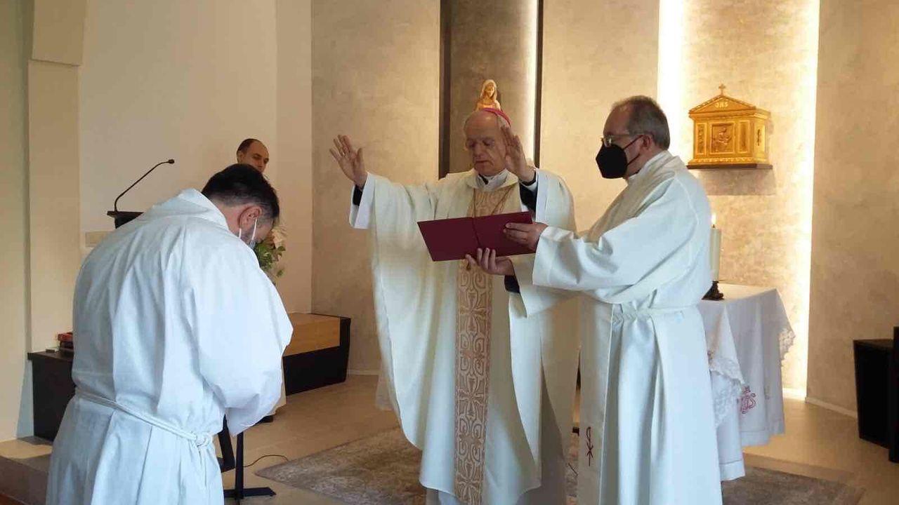 El primer diácono casado de Ourense, España,  se ordenará en mayo