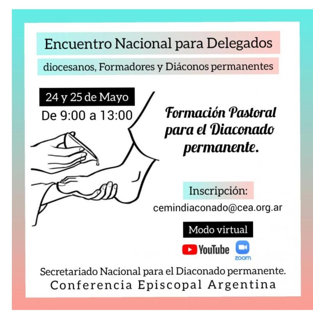Encuentro Nacional para Delegados Diocesanos, Formadores y Diáconos Permanentes en Argentina