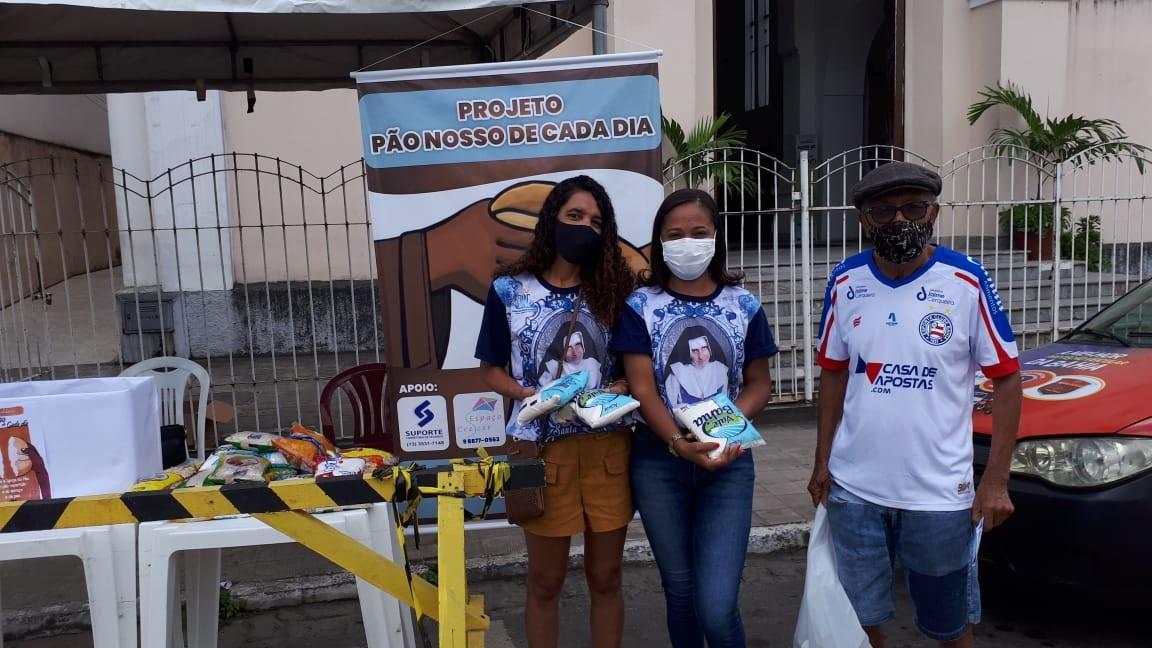 Diácono lança projeto de arrecadação de alimentos para população carente