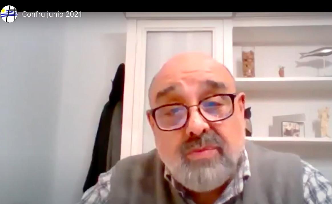 """El diácono José Lima imparte formación virtual a la CONFRU  sobre """"Conversión sinodal a lo largo de la vida"""""""