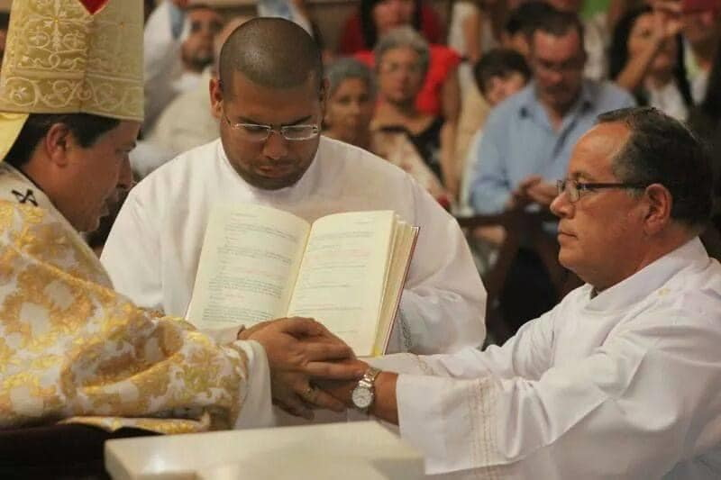 Ha partido a la casa del Padre el Diácono permanente Marco Vinicio Vargas Aragonés