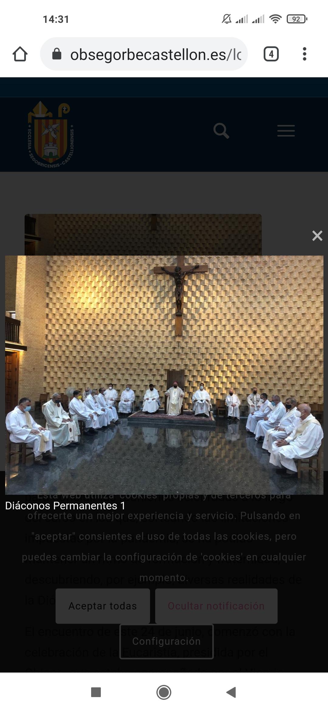 De Segorbe Castellón, España: los diáconos permanentes celebran el fin de curso con una convivencia