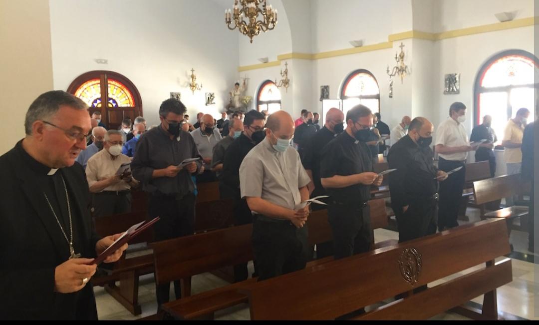 Retiro convivencia de los sacerdotes y diáconos de Almería, España