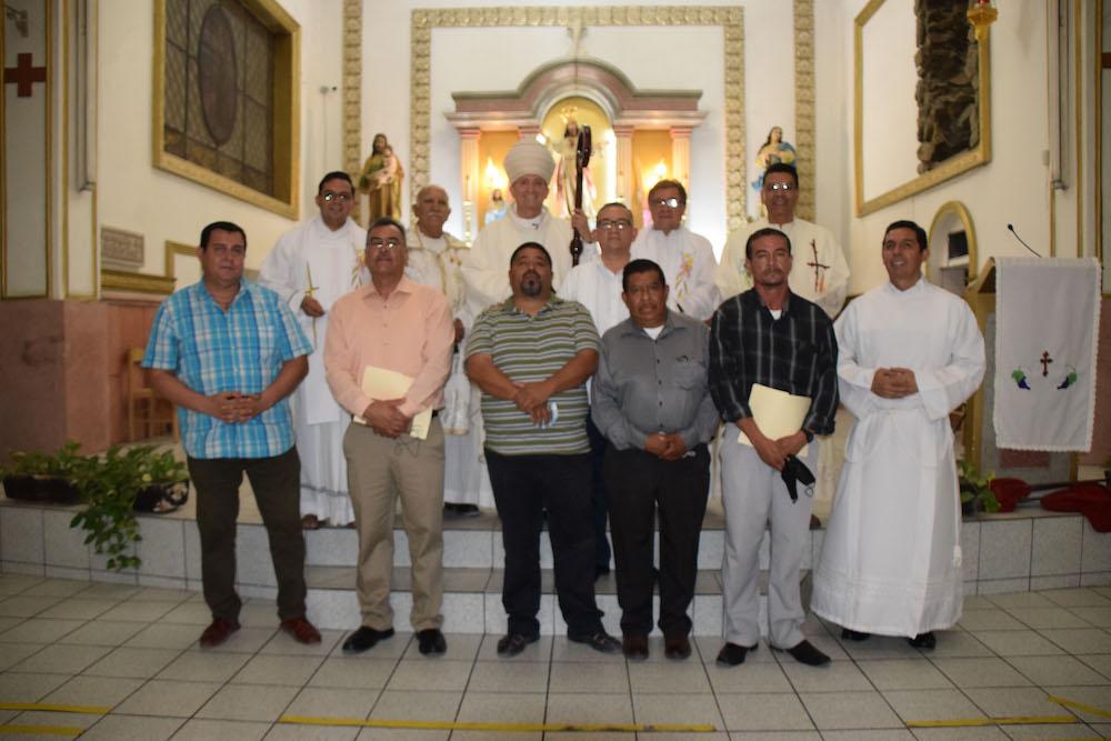 En  Ciudad Juarez, México, concluyeron formaciónal diaconado permanente
