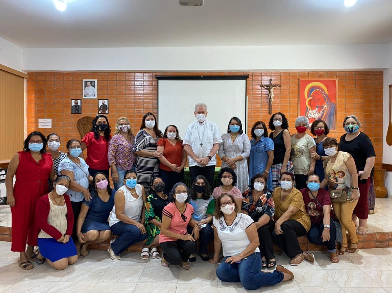 Encontro das esposas dos diáconos com o Arcebispo de Manaus (AM, Brasil)