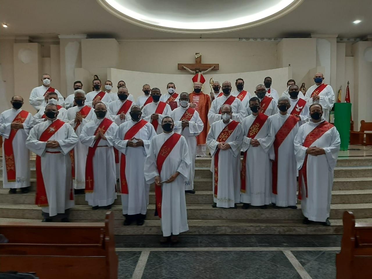 Diocese de Campos (RJ, Brasil) promoveu Retiro Espiritual para Diáconos Permanentes