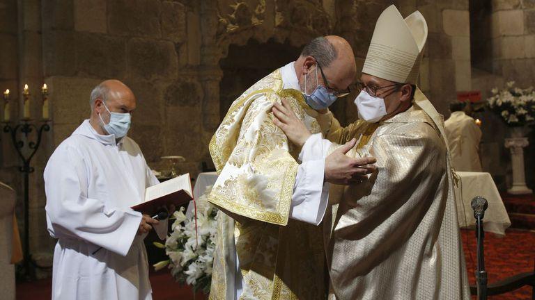 Agustín, un viudo con dos hijos que decidió hacerse diácono
