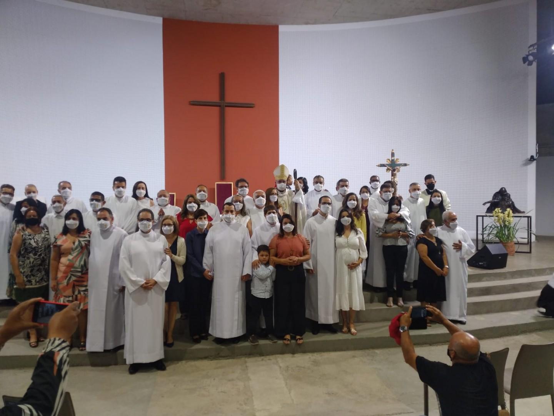 Belo Horizonte, Brasil: 21 candidatos ao diaconato são admitidos como leitores e acólitos