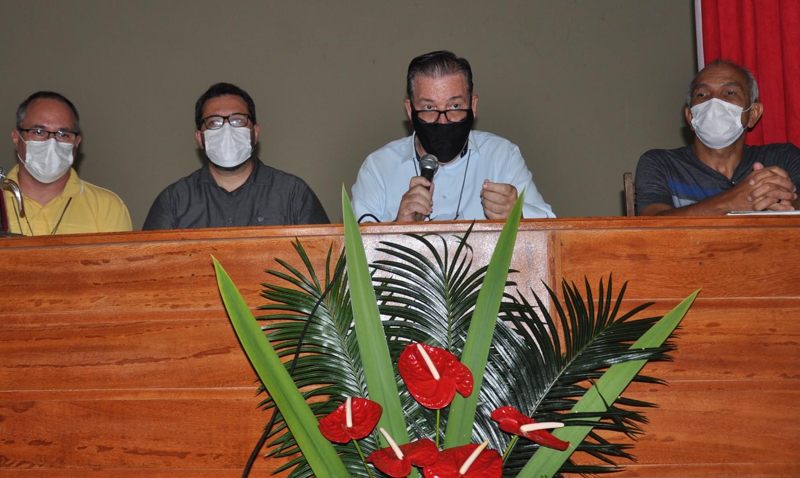 CRD NORDESTE 2, BRASIL,  FAZ ASSEMBLEIA E RECEBE CARTA DO PRESIDENTE DA CND