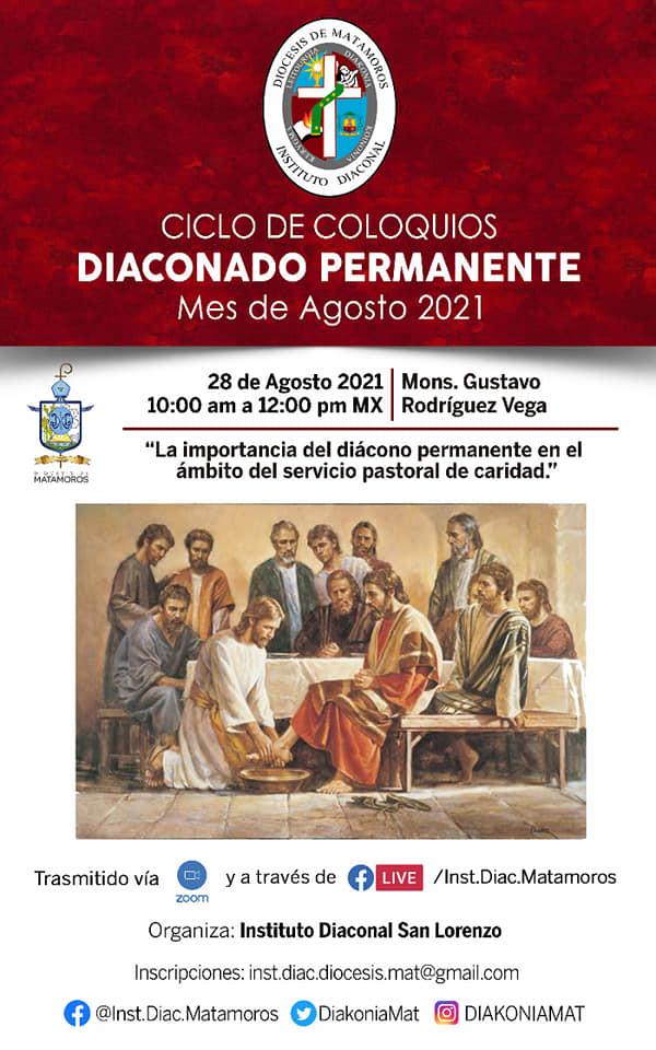 Ciclo de Conferencias sobre el diaconado permanente en la diócesis de Matamoros, México