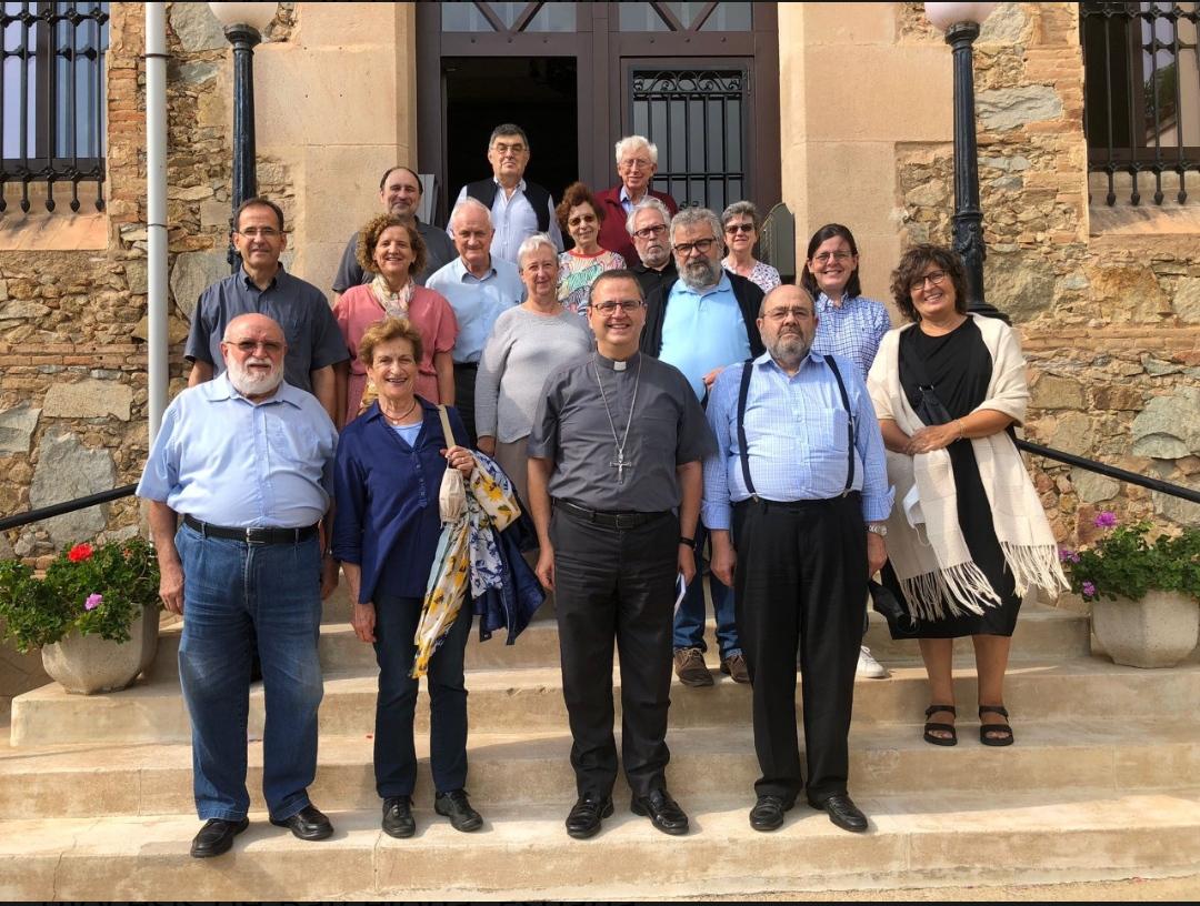 Ejercicios espirituales de diáconos y esposas de la diócesis de Barcelona, España